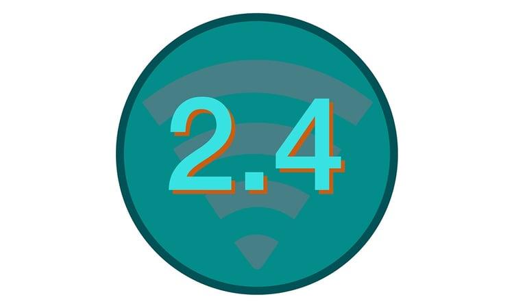 2.4 GHz wireless microphones