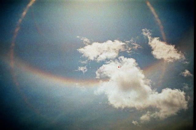 baloon in sky