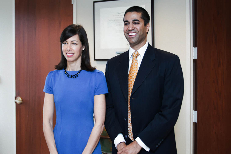 New_FCC_Commissioners_-_Jessica_Rosenworcel_and_Ajit_Pai_-7196603274-.jpg