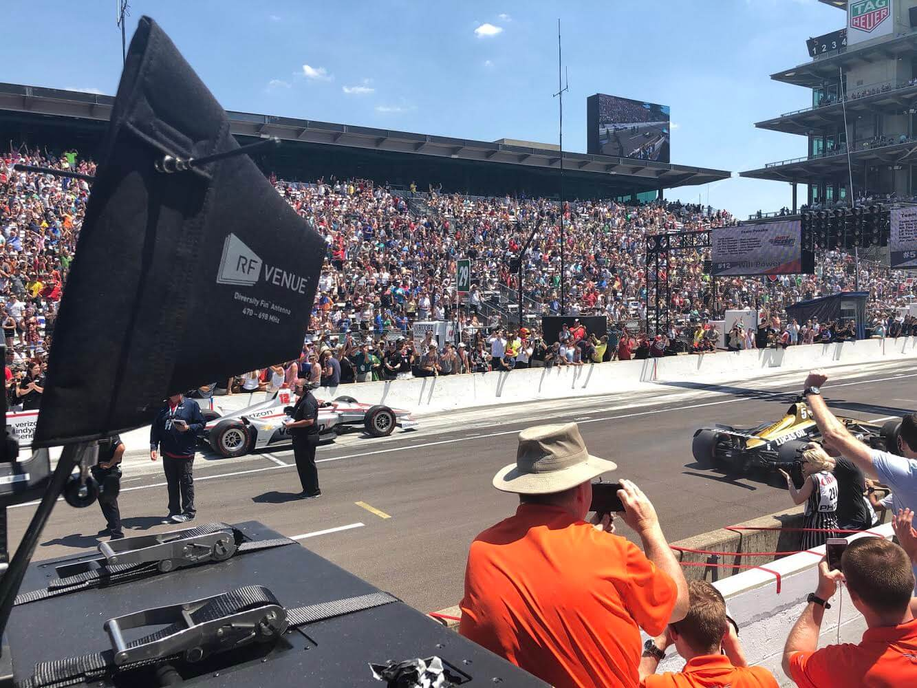 Diversity Fin Antenna at the Indy 500