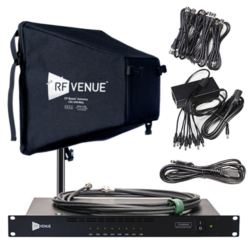RF Venue 8 Channel In-Ear Monitor Upgrade Pack