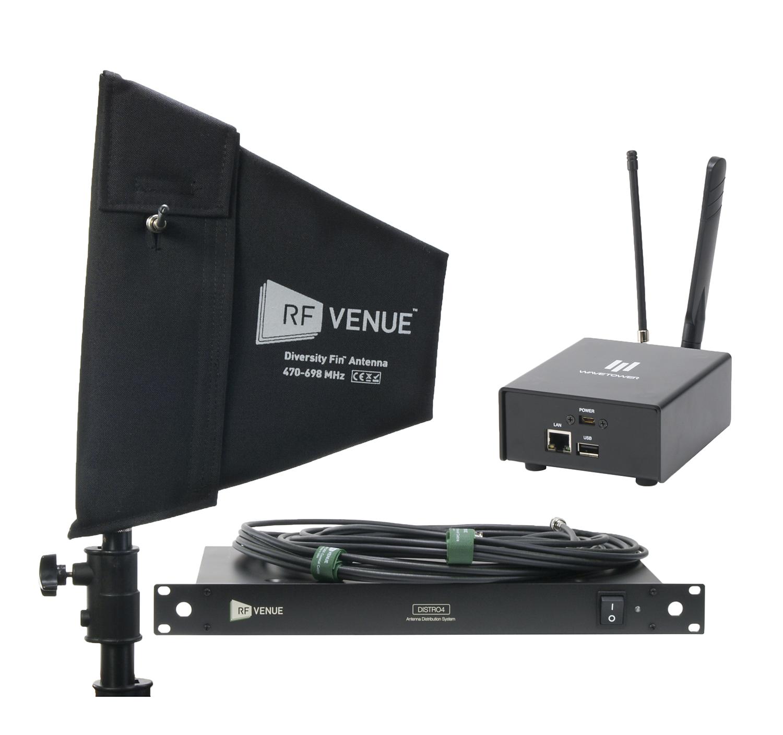 Diversity Fin® Antenna, DISTRO4, WaveTower® Bundle