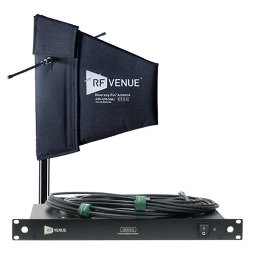 RF Venue 4 Channel Wireless Microphone Upgrade Pack