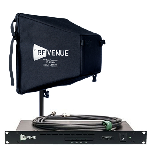 RF Venue 4 Channel In-Ear Monitor Upgrade Pack