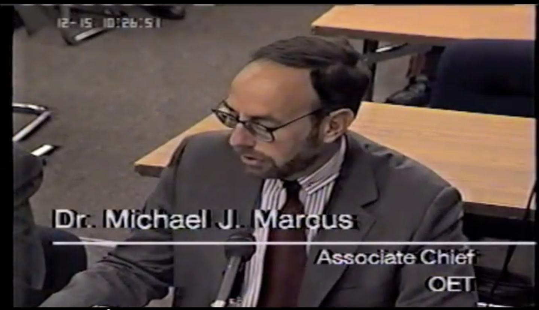 Michael Marcus wireless microphones