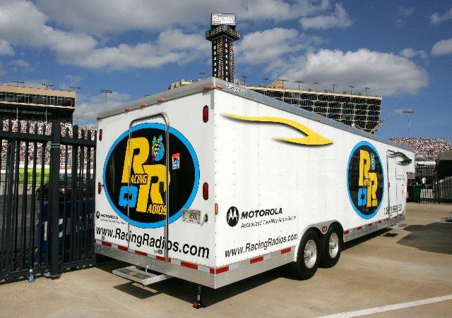 Racing Radios trailer