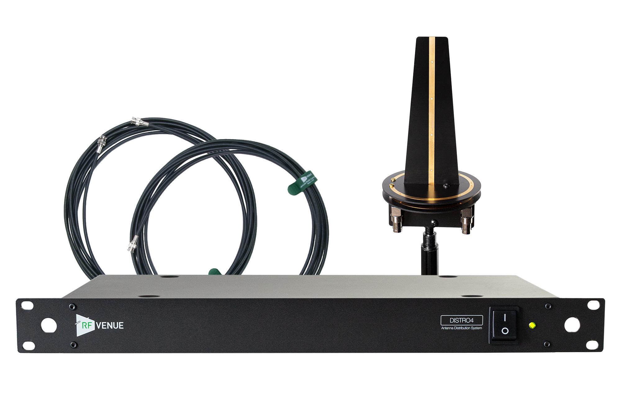 RF Venue 4 Channel Wireless Microphone Omni Upgrade Pack