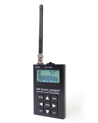 RF Explorer® Pro Audio Edition