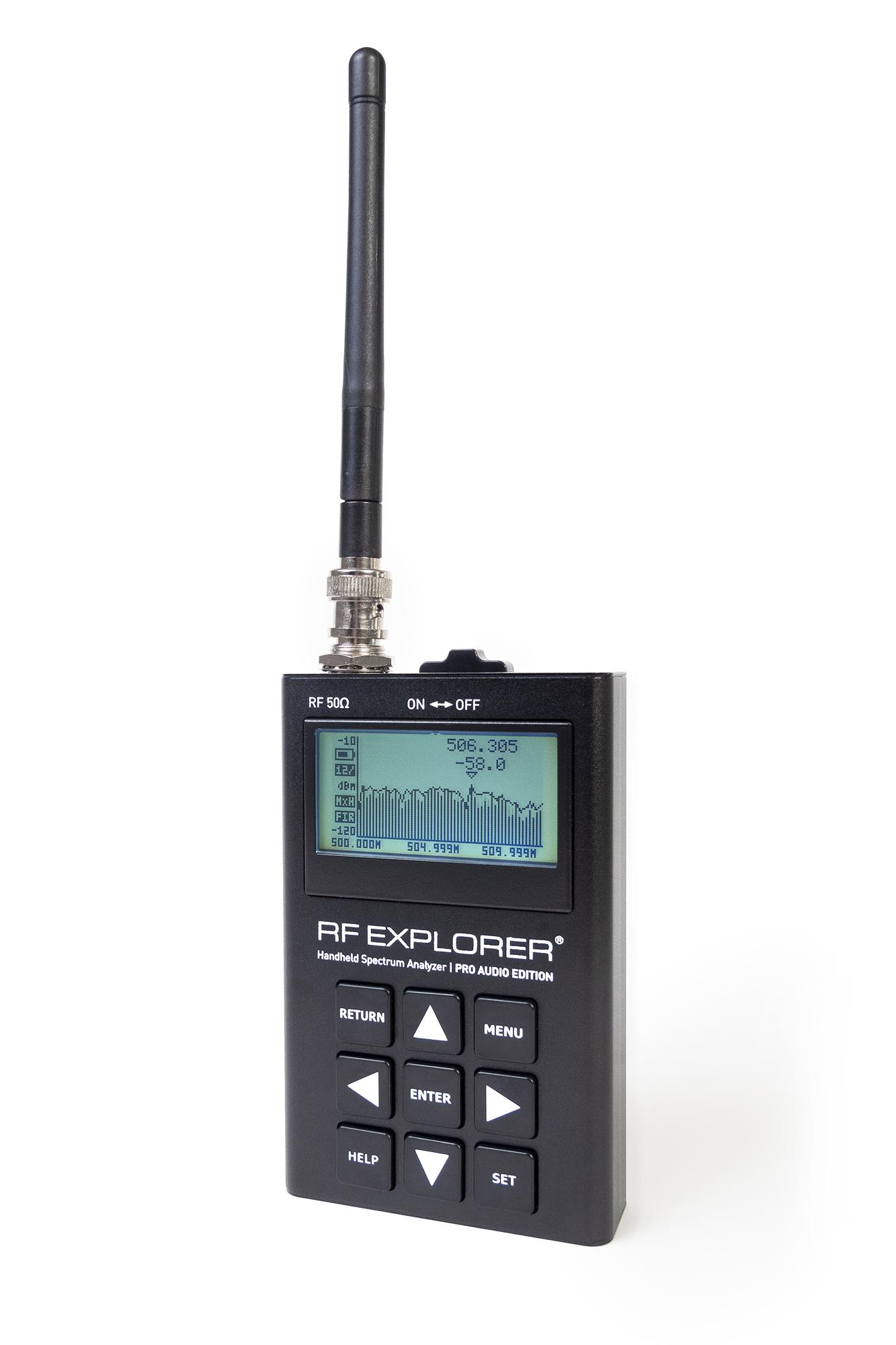RF Explorer® Pro Audio Edition