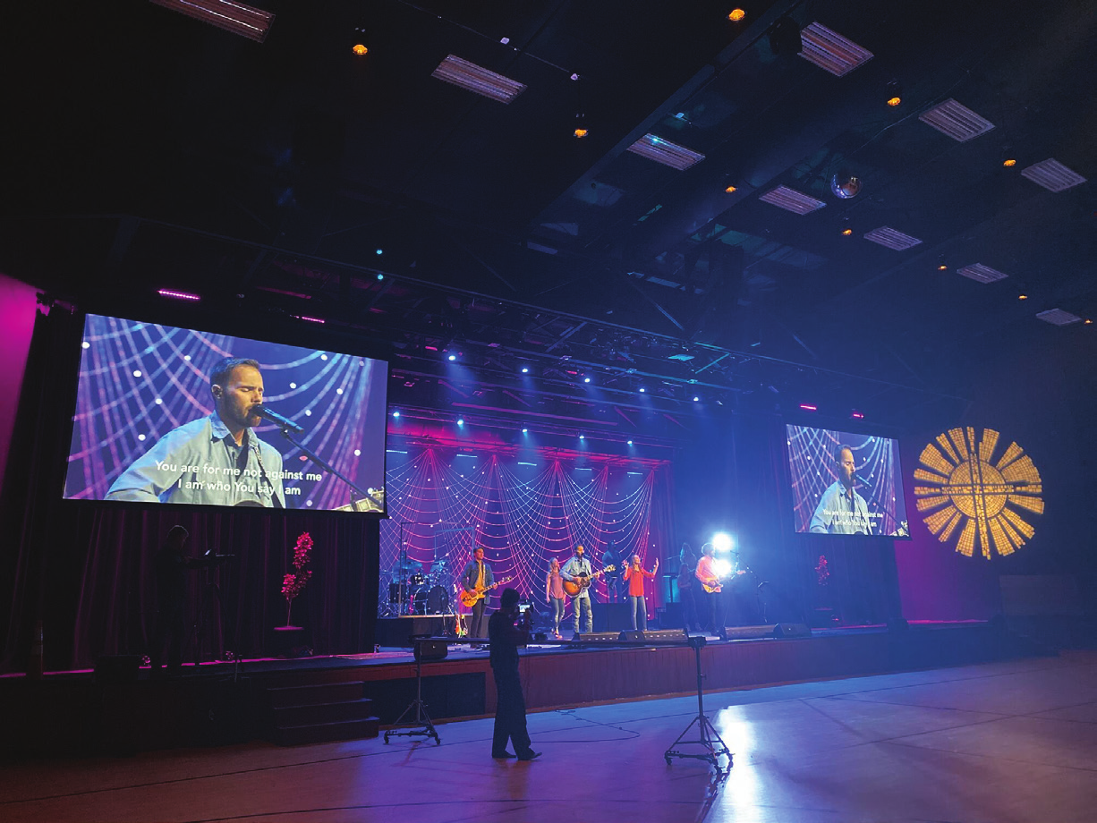 Church Service Streaming Ups Ante for WirelessMicrophone Systems