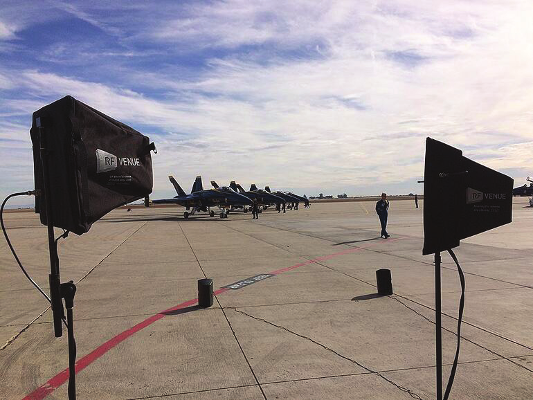 Blue Angels Take Flight with RF Venueand In Concert Productions